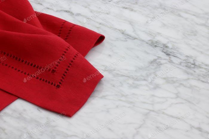 lovely linen hemstitch napkins