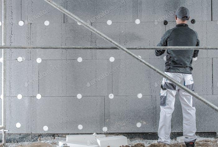 Installing Graphite Insulation