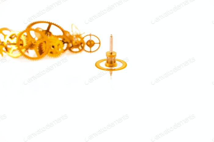 rotary clockwork gear