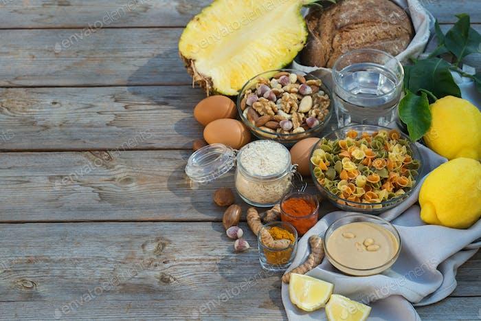 Low Purin Zutaten für eine Diät, um Gicht zu stoppen