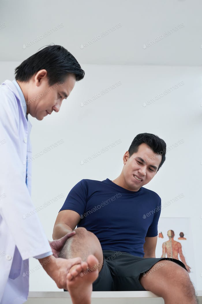 Arztuntersuchung Patienten