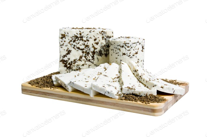cheese specialty with fennel seeds