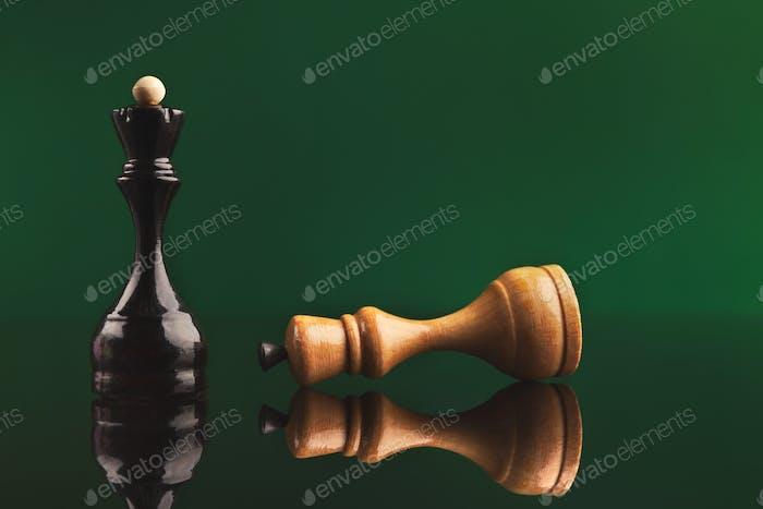 Black Queen wins