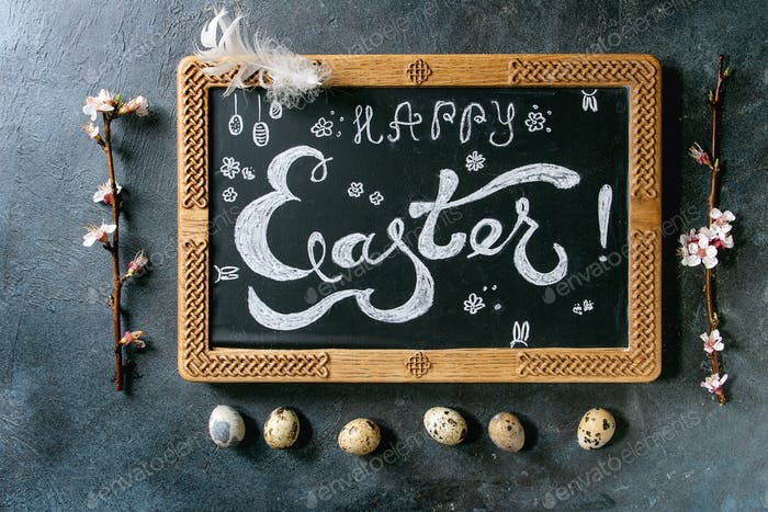 Frohe Ostern Thema