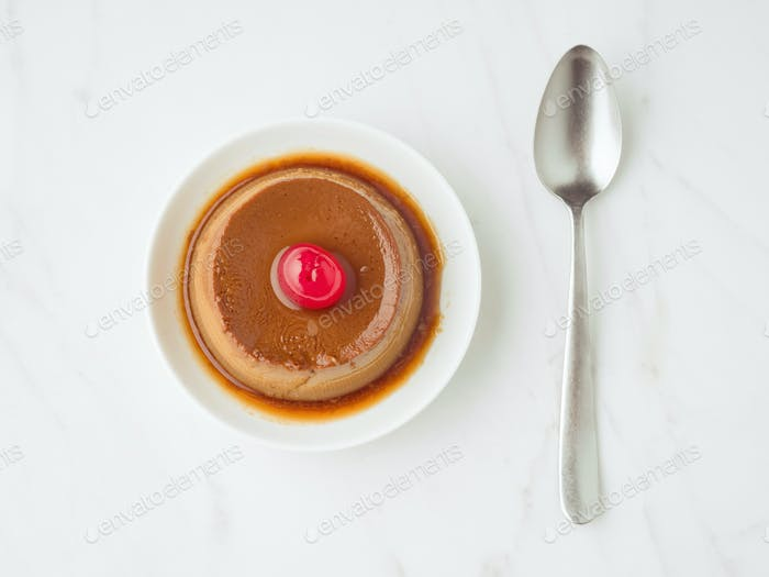 homemade chocolate custard
