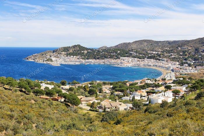 Port de la Selva village in Costa Brava, Catalonia, Spain