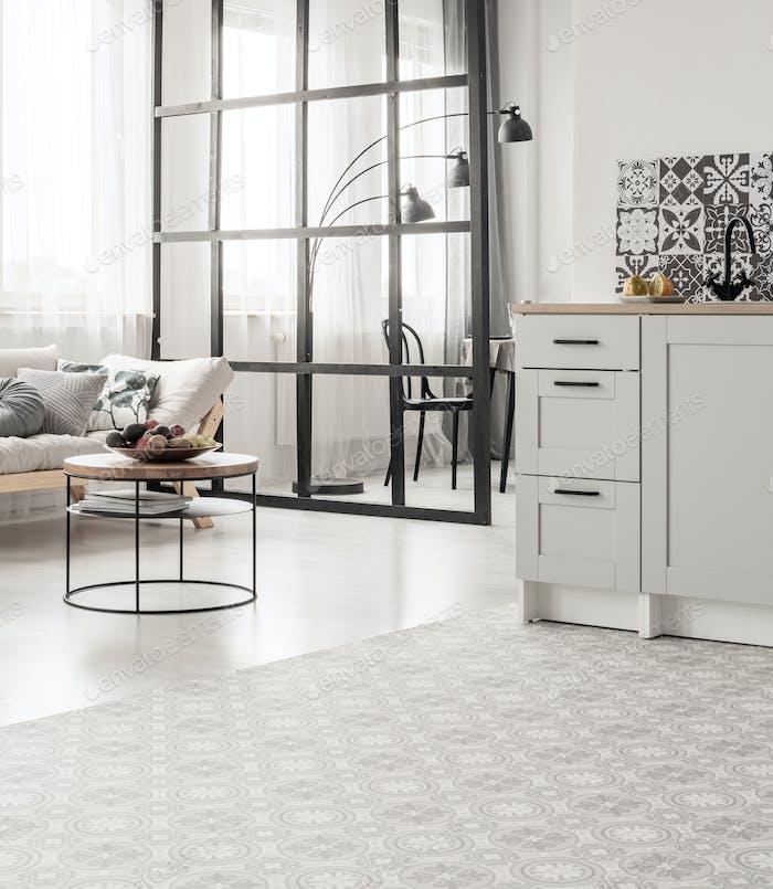 Elegant open space kitchen