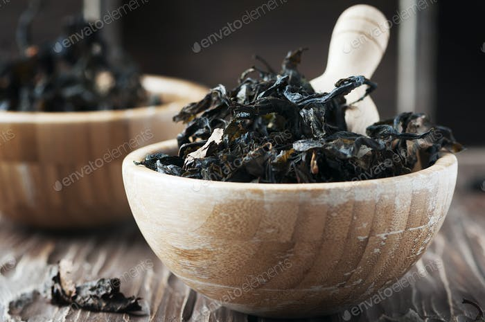 Dry fermented tea of fireweed (Chamerion angustifolium)