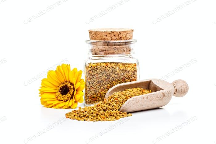Pollen granules