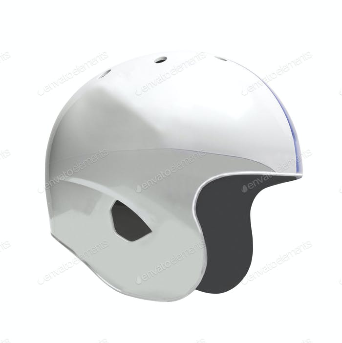 Helmet isolated