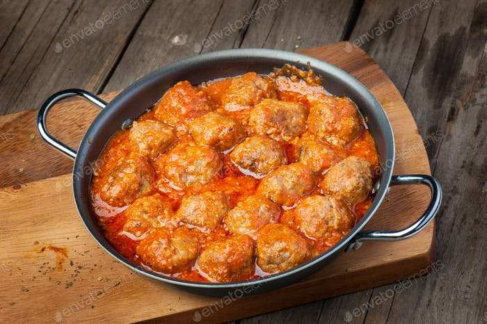 Meatballs meat food