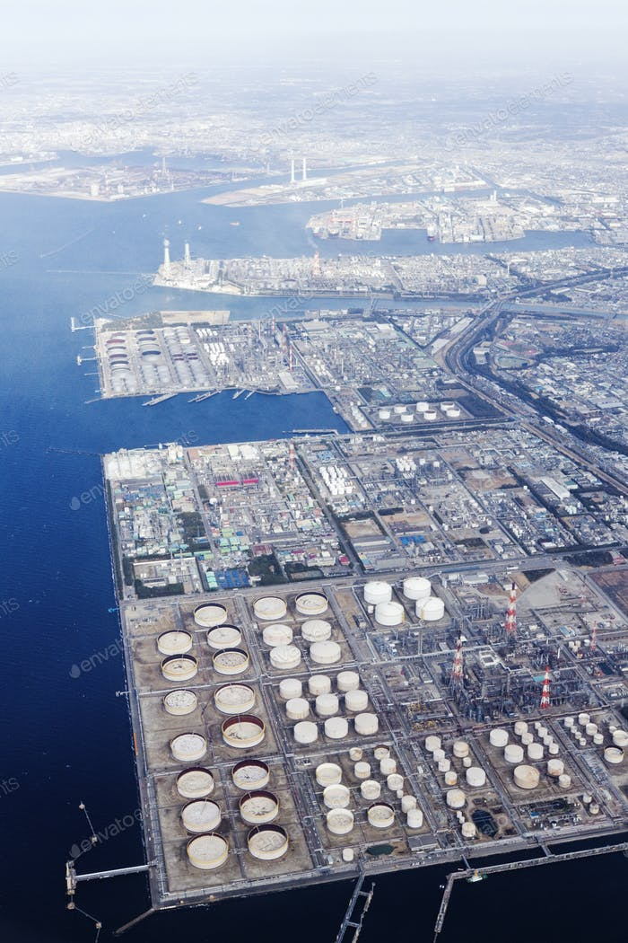 Industrial Plants on Bay