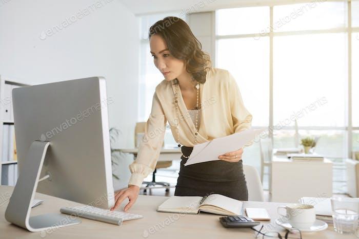 Überprüfen des Computers