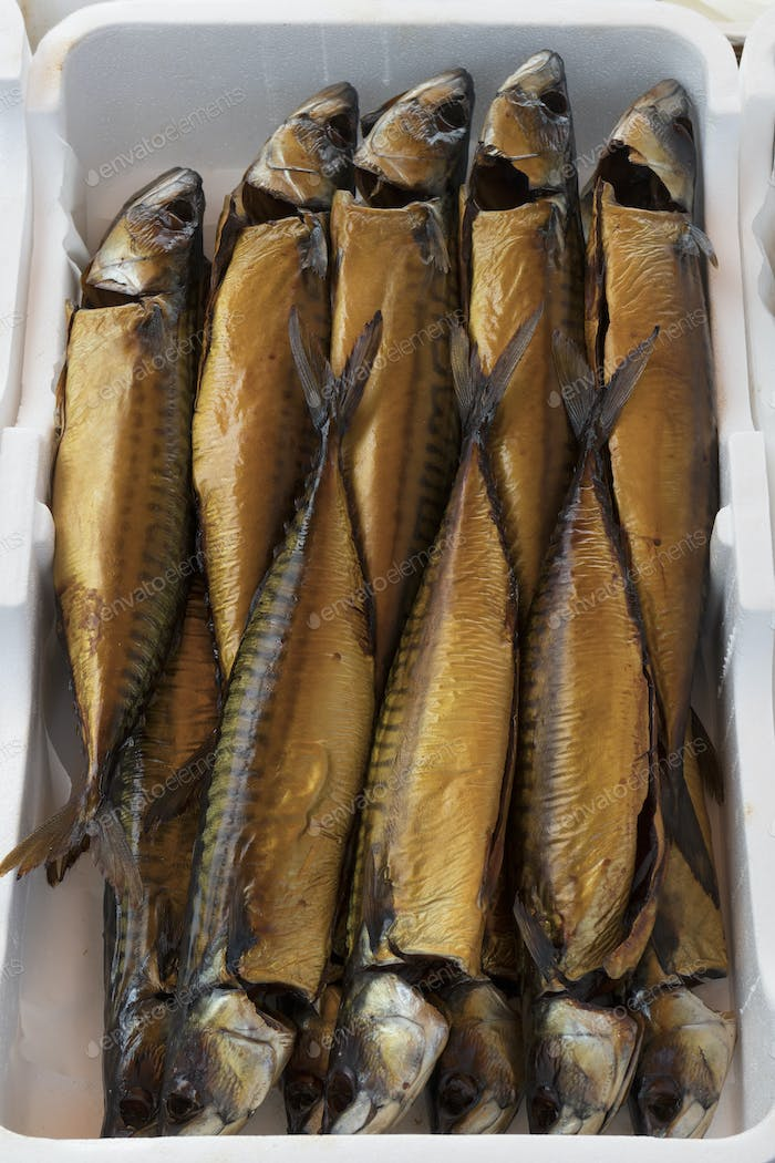 Fresh smoked mackerel