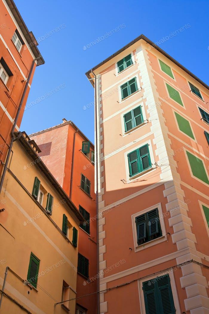 Camogli's houses