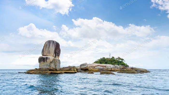 Insel Ko Hin Sorn in Thailand
