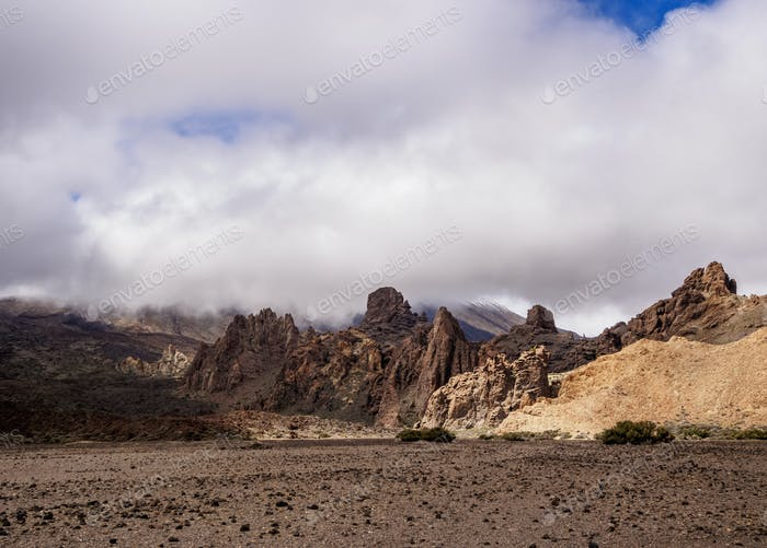 Garcia Rocks in Teide National Park on Tenerife Island
