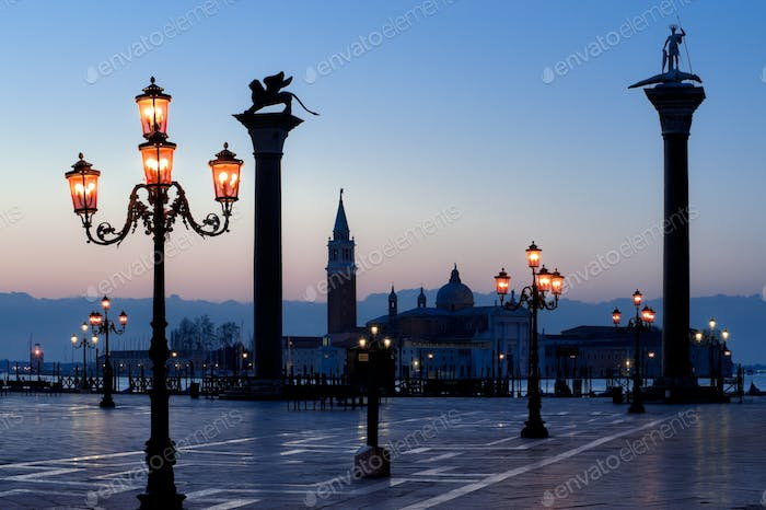Morning at San Marco square