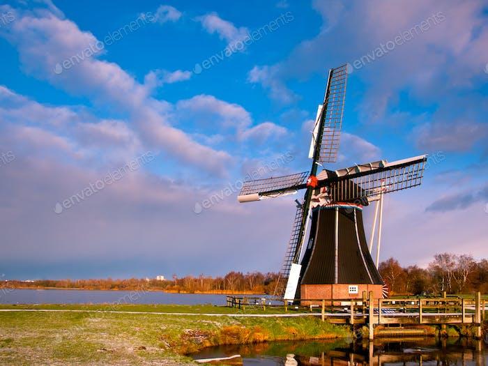 Molino Eólico Países Bajos