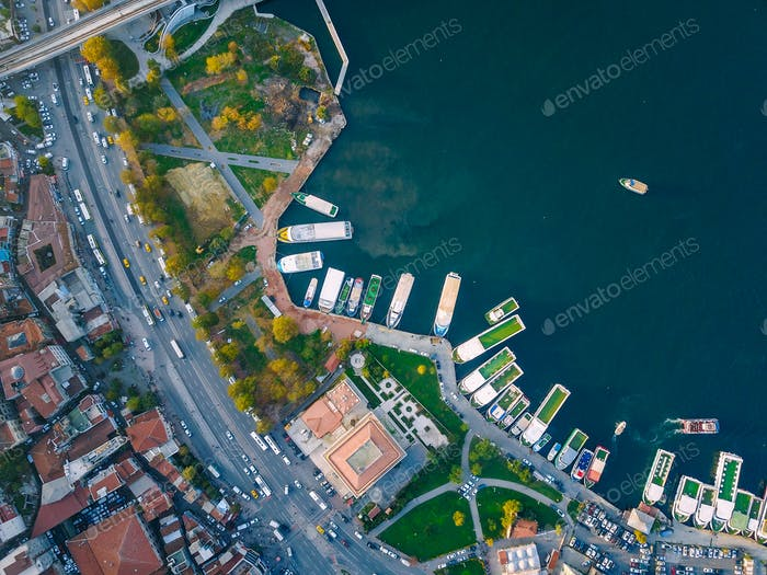 Istanbul Luftaufnahme