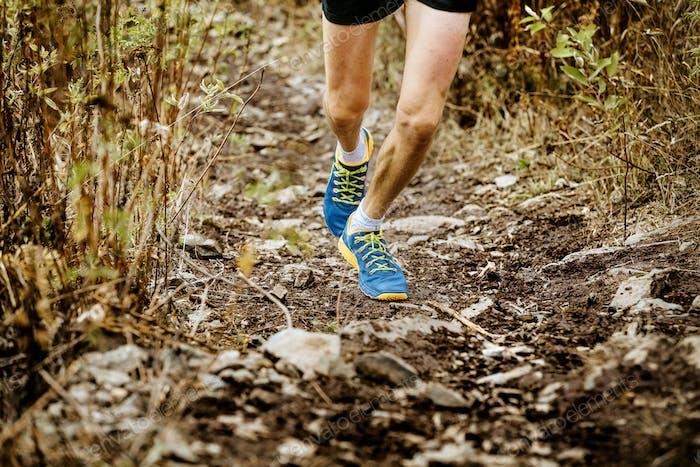 legs athlete male runner
