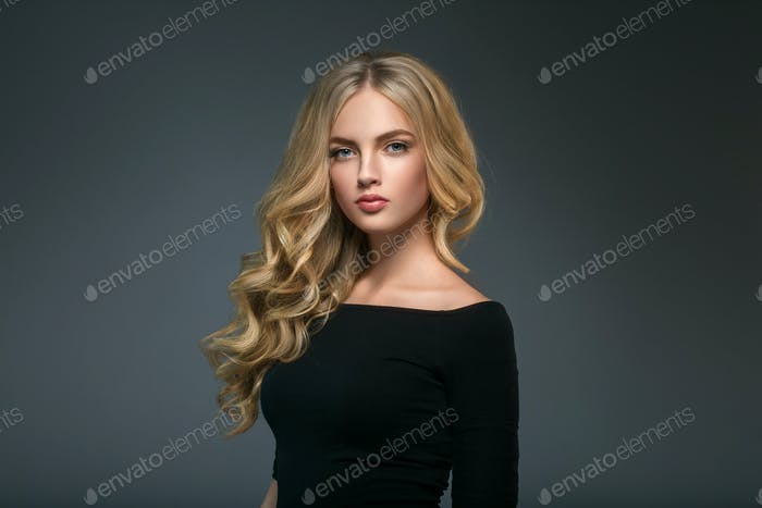 Beauty woman face portrait beautiful spa model girl with perfect clean skin.