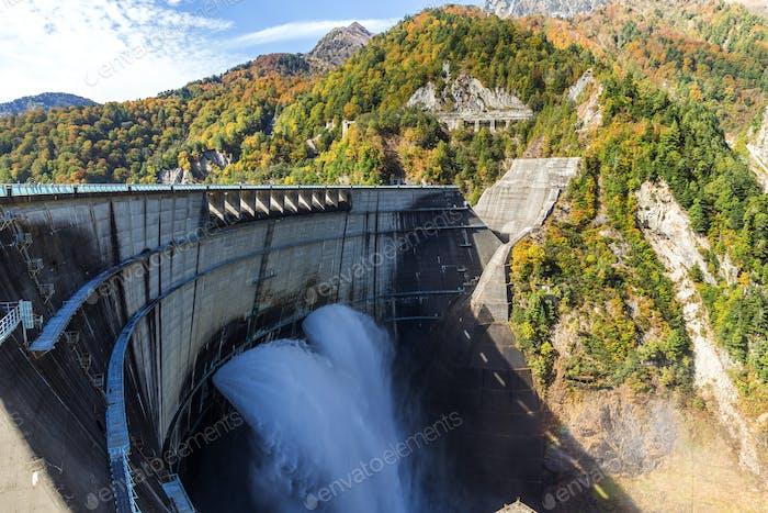 Staudamm von Kurobe