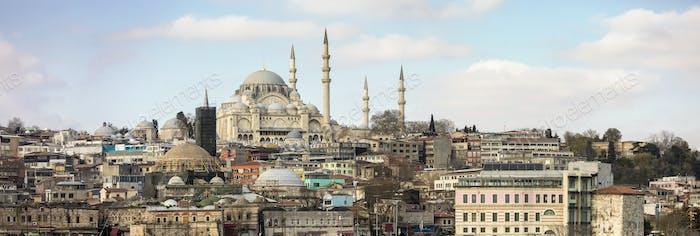 Panorama of Istanbul, Turkey