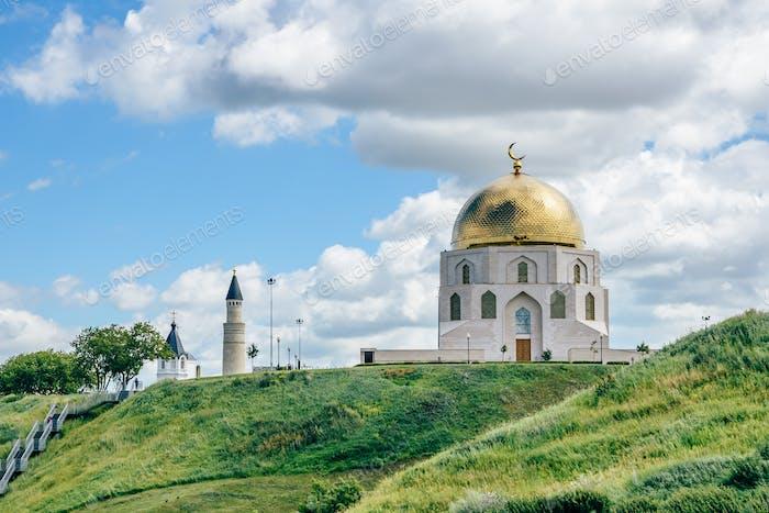 Signo conmemorativo en Bolgar, Rusia.