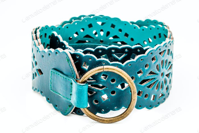 Green women belts