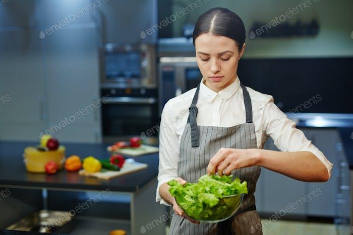 Trainee of chef