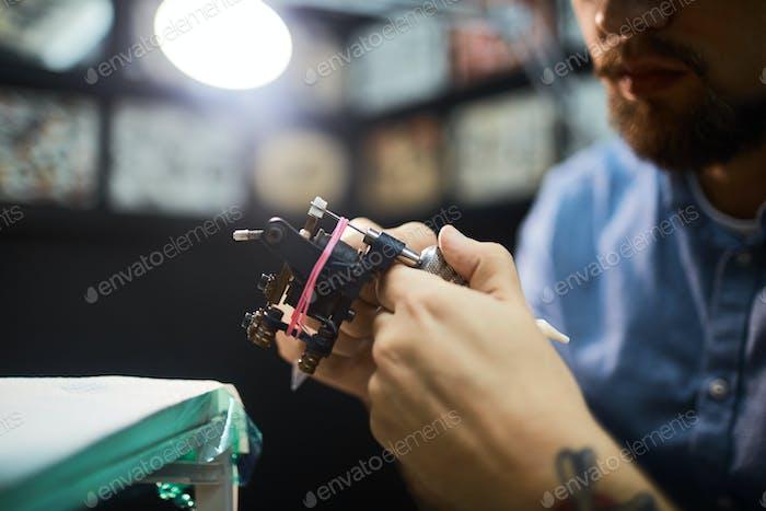 Tattoo machinery