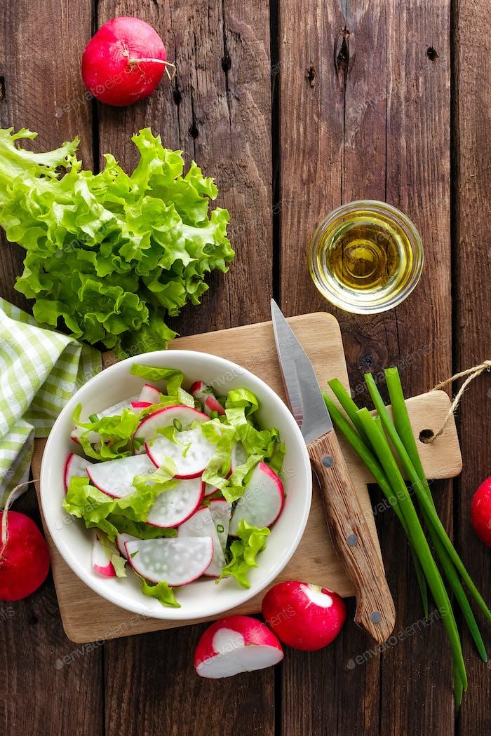 Rettich-Salat