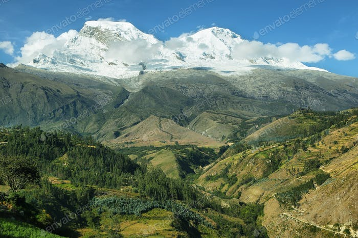 Huascaran peak, Peru
