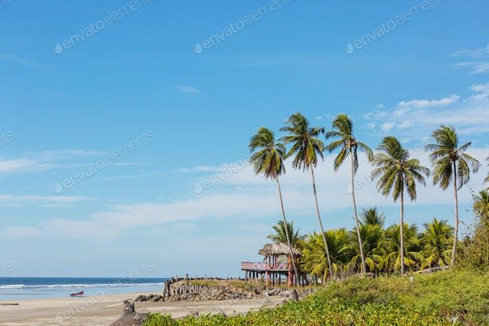 Coast in El Salvador