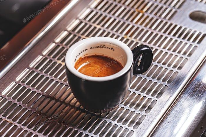 Taza de café expreso