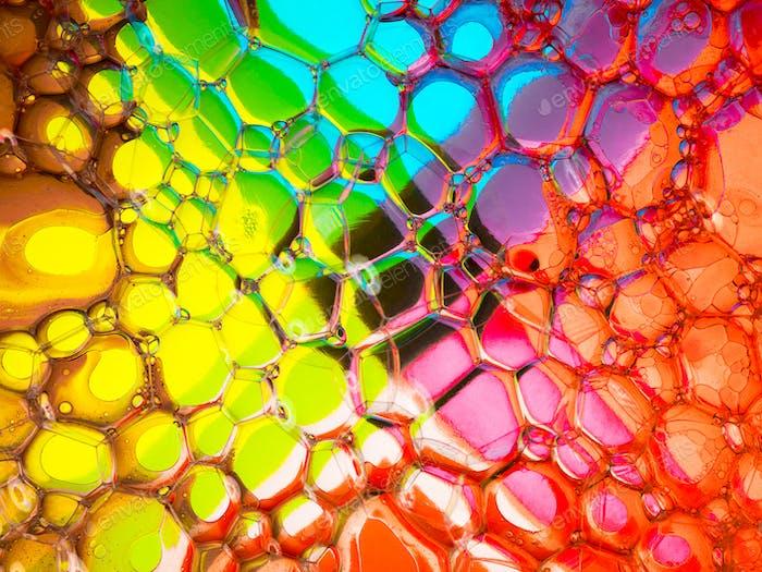 Verrückte bunte Blasen
