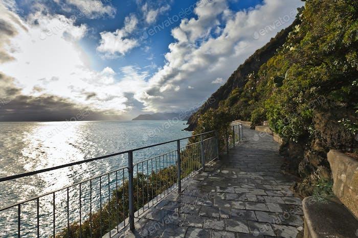 """"""" Via dell amor"""" der Cinque Terre"""