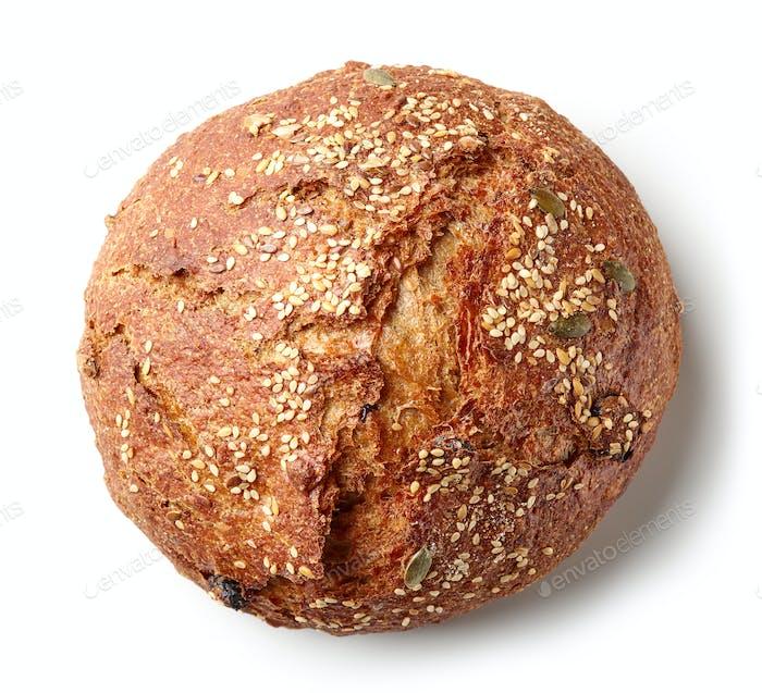 freshly baked artisan bread