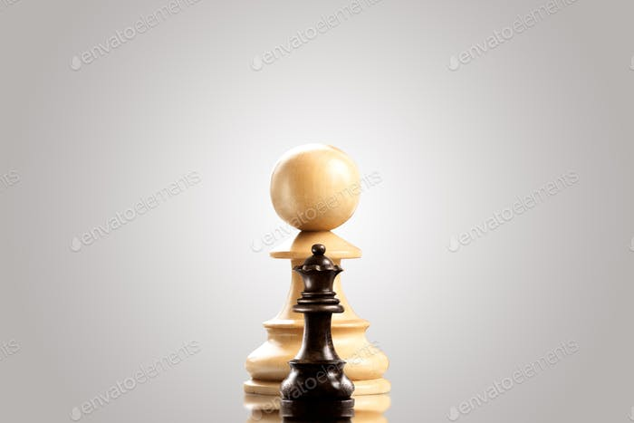 Ambitious pawn.