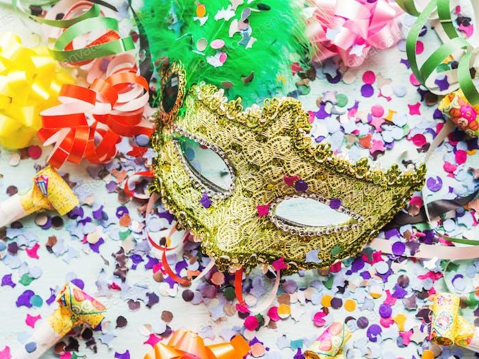 Bunte Kranival-Mardi gras Hintergrund
