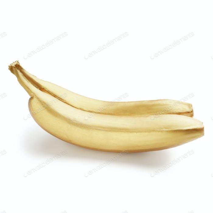 Golden fruits concept