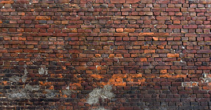 Old brick wall. Grunge background. Bric. Rustic style