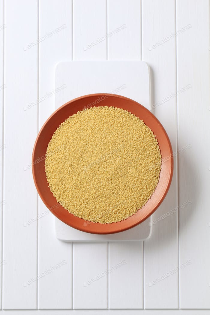 Dried couscous