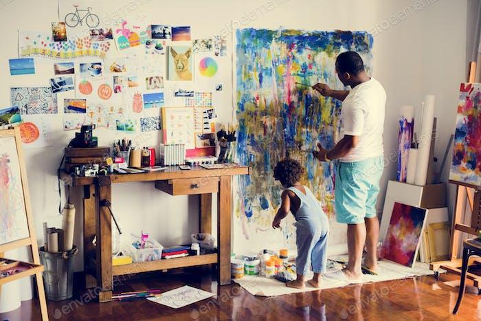 Künstlerfamilie