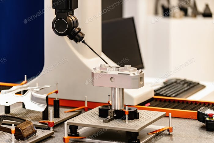 Precision manufacturing. 5-Axis Measurement System