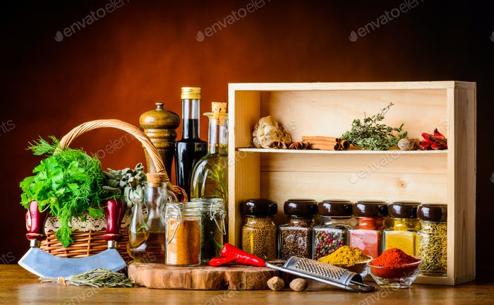 Cooking Ingredients, Spices and Herbs