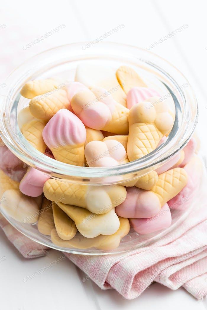 Gelee Süßigkeiten-Form Eis. Gummibonbons.