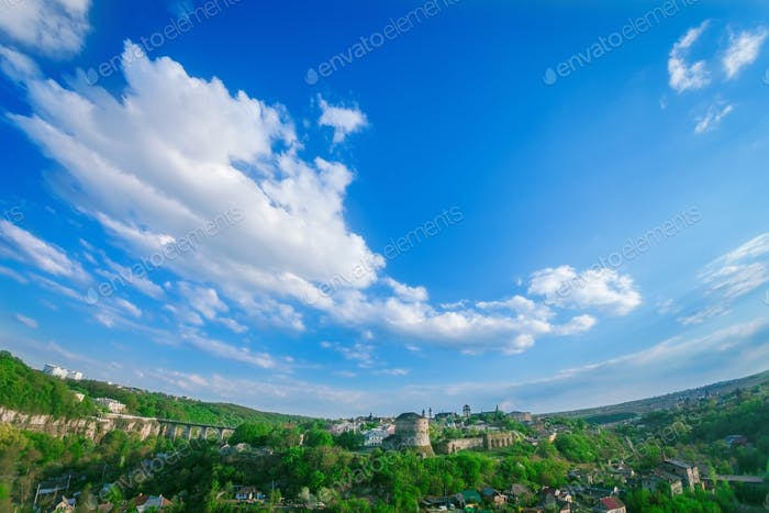 Kamjanez Podilskyi Stadtbild
