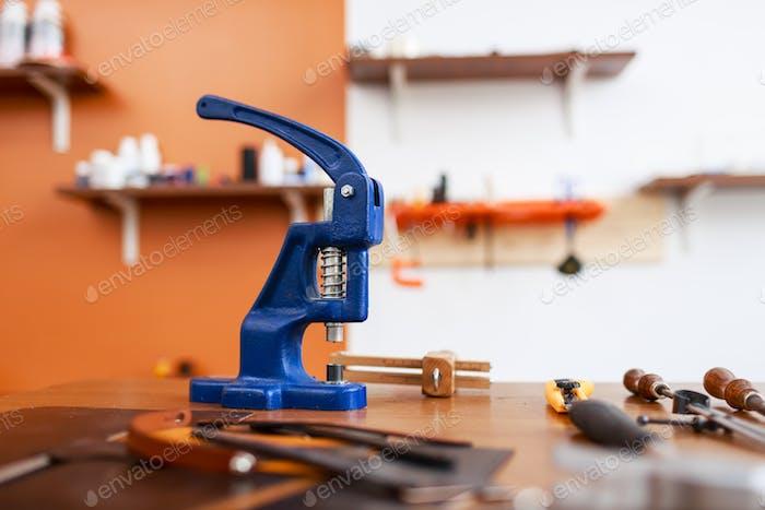 Leathercraft stapler